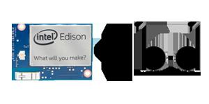 Пристрій на Intel Edison