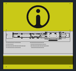 схема помещения тактильная