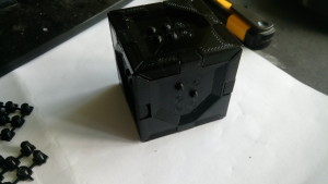 braille cube assembled